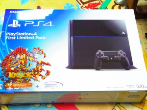 PS4 箱
