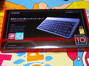 ELECOM キーボード TK-FCM006SV