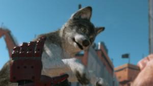 戦場で小型狼をキャプチャー。これがDDになるのかなw楽しみ♪