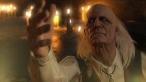 コードトーカーは病について知るもスカルフェイスの脅威を感じ、スネーク達に肩を貸すのを躊躇うが最後は説得されて動いて館を脱出する事になる