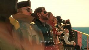 銃を持たない戦争放棄を誓い仲間と共に新たな一歩を踏み出すシーン。こうゆうのいいよねー。