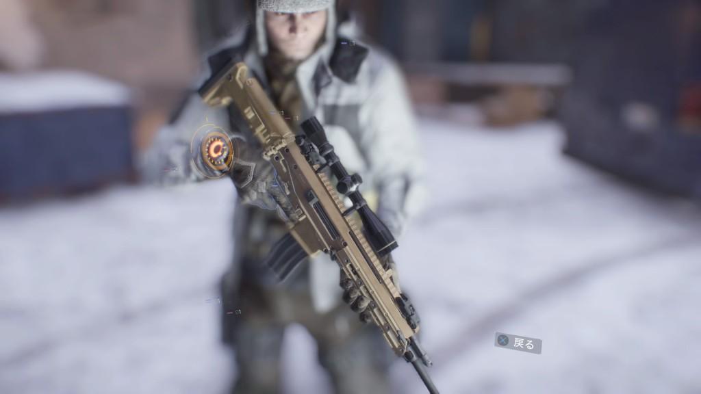 武器名前:エンハンスドACR-E Lv28 特殊 DPS 57776 RPM 856 MG 41